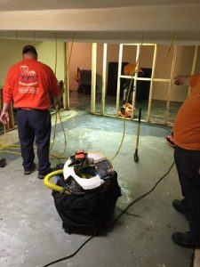 Water damage Bladensburg cleanup