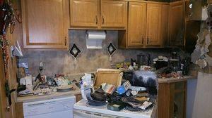 fire and smoke damage Upper Malboro home